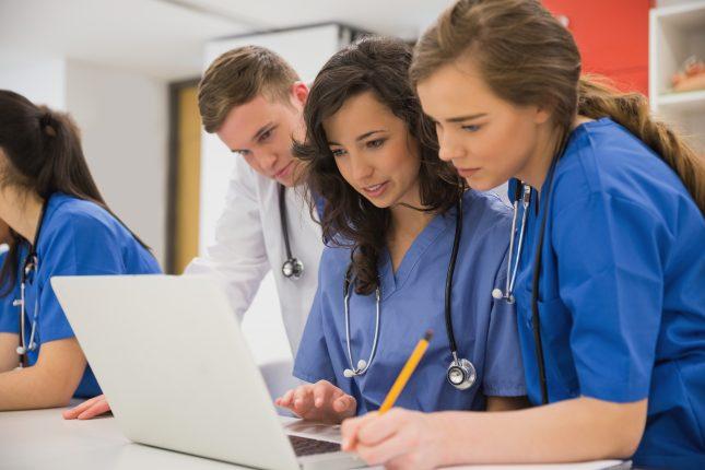 סטודנטים לרפואה. התבוננות ישירה והמשוב במהלך הטיפול הפליאטיבי היו חשובים