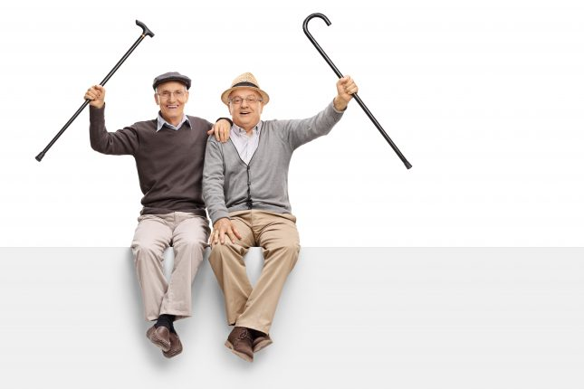 גברים מבוגרים. התקדמות הטכנולוגיה הרפואית והעלייה בתוחלת החיים נותנים אותותיהם
