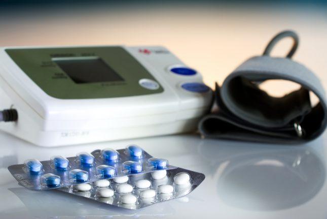 תרופות ללחץ דם גבוה. אילוסטרציה