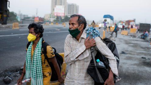 מגיפת הקורונה בהודו. צילום: Manoej Paateel/ שאטרסטוק