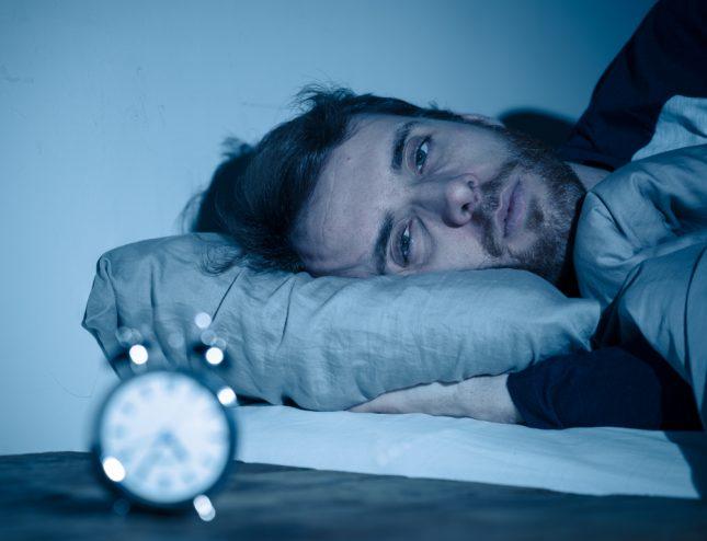 שינה, מחסור בשעות שינה. אילוסטרציה
