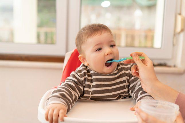 תזונה, תינוקות. אילוסטרציה
