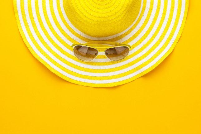 קיץ, הגנה מהשמש. אילוסטרציה