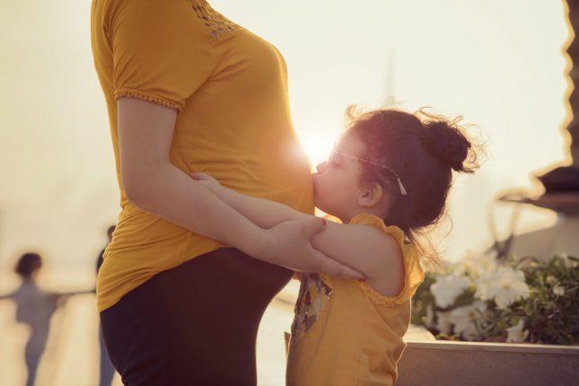 הריון ולידה. אילוסטרציה