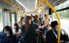 קורונה בישראל, תחבורה ציבורית. צילום: יוסי זמיר פלאש 90