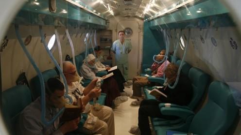 """תא לחץ ב """"אסף הרופא-שמיר"""". צילום: דוברות בית החולים"""