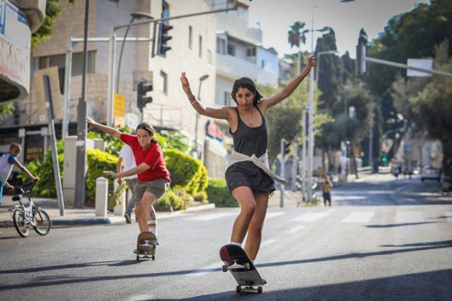 ילדים בכבישים. צילום: נעם ריבקין פנטון/ פלאש 90