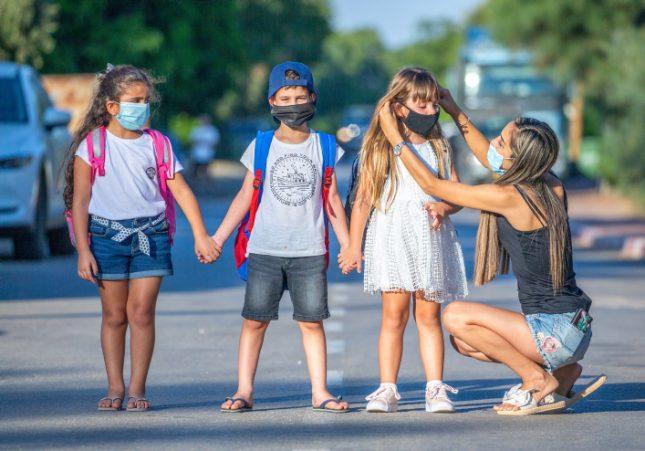 ילדים במגיפת הקורונה. צילום: יוסי אלוני/ פלאש 90